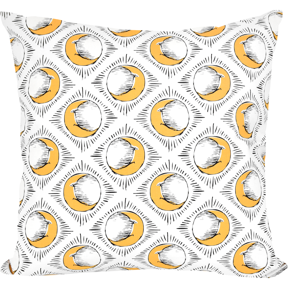 Sun & Yellow Moon Cushion by Tool Press
